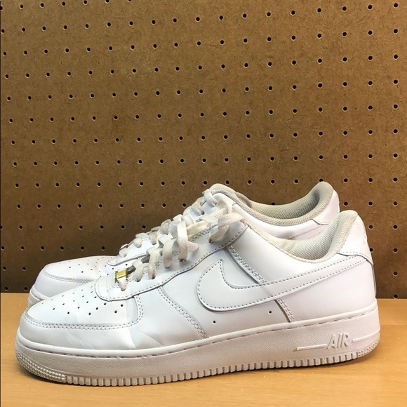 Mix/Match All White Nike Air Force 1 Men's size 13